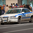 Stock Photo: Photo of police car, Manhattan, New York