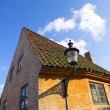 Old Danish houses — Stock Photo
