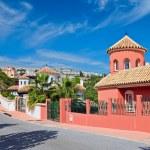 Spanish luxury house — Stock Photo