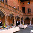 Conference dinner - University of Krakow, Poland — Stock Photo