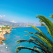 View from a luxury villa in Spain — Stock Photo