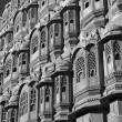 Stock Photo: Palace with harem in Japipur, Indi
