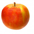 Red healthy apple — Photo