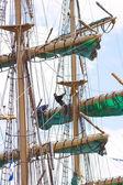 Tall sailing ship — Stock Photo