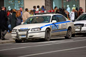A photo of a police car, Manhattan, New York — Stock Photo