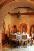 Dining hall (Morocco) — Stock Photo