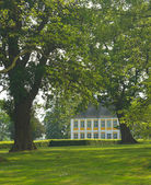Manor house with park — Stock Photo