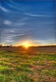 Countryside sunset — Stock Photo