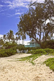 Beach house — Stock Photo