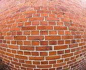 弯曲的墙 — 图库照片