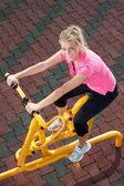 Exercising time — Stock Photo