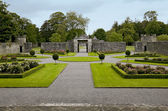 Portumna Castle courtyard and gates — Stock Photo