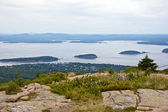 Cadillac Mountain on Mount Desert Island. — Stock Photo