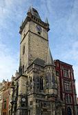 Tower at Staromestske namesti — Stock Photo