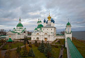 Territory of Monastery of St Jacob (Rostov) in autumn — Stockfoto