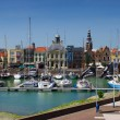 Vlissingen little Harbour in Holland — Stock Photo #6151653
