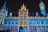 Ghent Post Office at Christmas — Stock Photo
