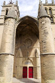 Saint Pierre Cathedral entrance — Stock Photo