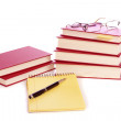Books and glasses — Stock Photo #5572387