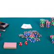 Poker table — Stock Photo #5572464