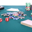 Poker table — Stock Photo #5572474