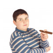 Child with cigar — Stock Photo #5572480