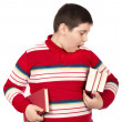 Stock Photo: Child holding books