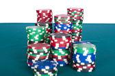 фишки для покера — Стоковое фото