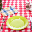 Diner table — Stock Photo