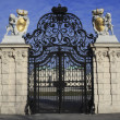 Gate at Belvedere Palace in Vienna Austria — Stock Photo