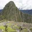 Royalty-Free Stock Photo: Overview of Machu Picchu Inca ruins Peru