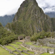 Overview of Machu Picchu Inca ruins Peru — Stock Photo