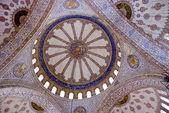 Plafond de la mosquée bleue — Photo