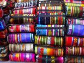 Ecuadorian woven bags — Stock Photo