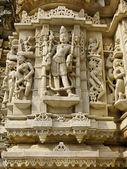 Sculpture in the Jain Temple, Udiapur India — Stock Photo
