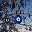 Evil-eye pendant tree in Turkey — Stock Photo #6382715