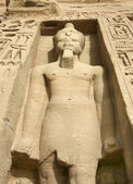 абу-симбел в египте — Стоковое фото