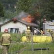 Stockfoto: House Fire