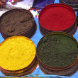 Nature coloring dyes in Cuzco Peru — 图库照片