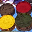 Nature coloring dyes in Cuzco Peru — Stok fotoğraf