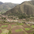 Stock Photo: Peru country side Panoramic