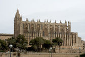 Palma Cathedral in Mallorca Spain — Stock Photo