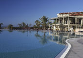 Resort in Side Turkey — Stock Photo