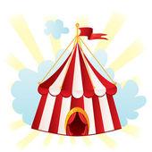 Zirkuszelt — Stockvektor