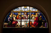 The Last Supper Glowing in the dark — Stock Photo