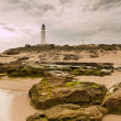 Lightouse & Rocks — Stock Photo