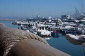 港をロープします。 — ストック写真