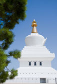 Stupa in the Sun — Stock Photo