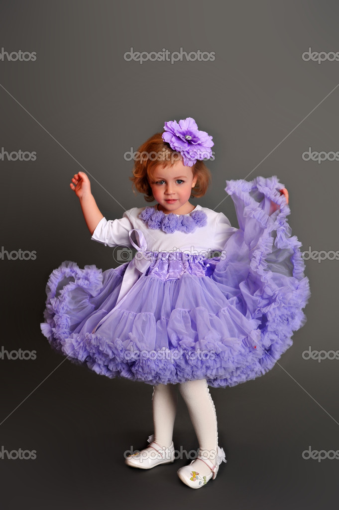 Child wearing pettiskirt — Stock Photo #5490822