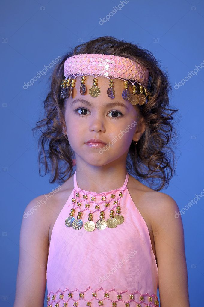 Oriental Princess  Stock Photo #5554793
